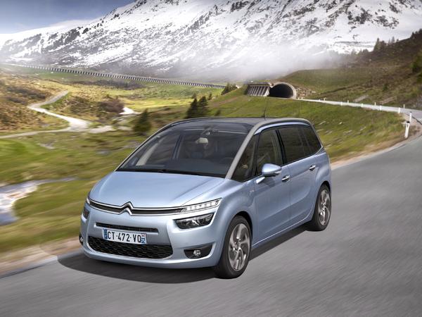 Citroën dévoile les tarifs du Grand C4 Picasso