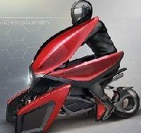 Concept -vidéo: la Tulip est la fine fleur des scooters électriques