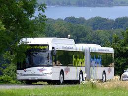 Un nouveau bus hybride circule en Ile-de-France