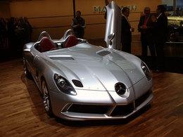 Mercedes SLR Stirling Moss : barquette volante