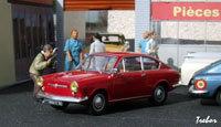 Miniature : 1/43ème - FIAT 850 coupé