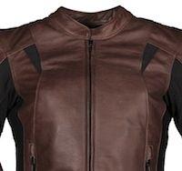 Blouson Furygan Oriane: cuir pour fille.
