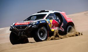 Peugeot arrêtera déjà le rallye-raid après le Dakar 2018
