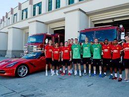 Chevrolet offre des Camaro et Corvette aux joueurs de Manchester qui n'en veulent pas