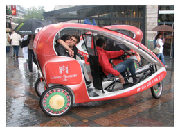 Interview : les vélos-taxis ont de plus en plus la cote