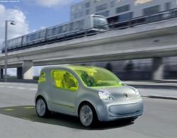 Salon de Francfort 2009 : des véhicules électriques Renault