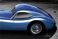 Oh! mais on dirait une Jaguar C-Type coupé, n'est-il pas?