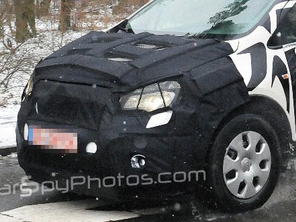 Spyshot : le prochain petit SUV Opel est de sortie