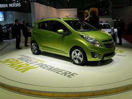 Genève 2009: Chevrolet Spark, une grande mini prometteuse