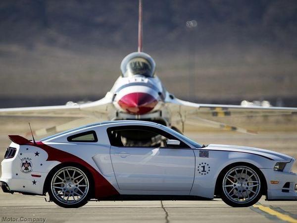 Ford dévoile une Mustang spéciale pour une bonne cause