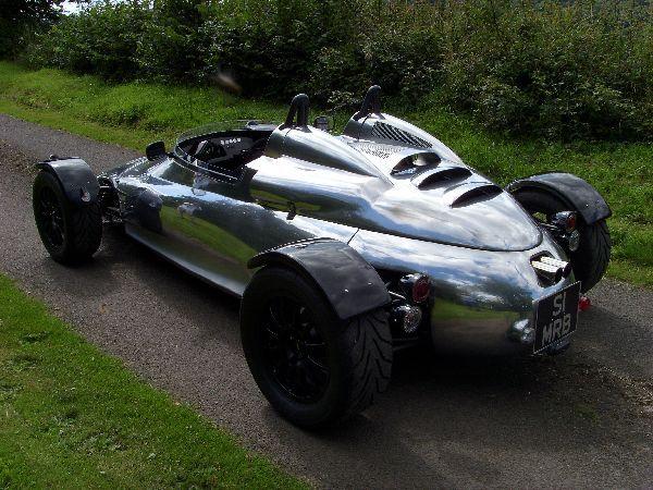 Brooke Cars Double R: Maintenant en alu et jusqu'à 400 ch