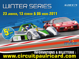 Seconde manche des Winter Series ce week-end au Paul Ricard HTTT