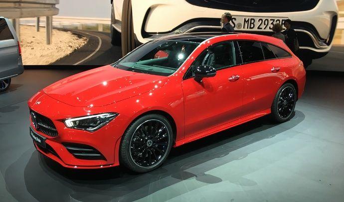 Mercedes CLA Shooting Brake : racée - Vidéo en direct du salon de Genève 2019