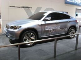 Salon de Francfort 2009 : le BMW X6 ActiveHybrid