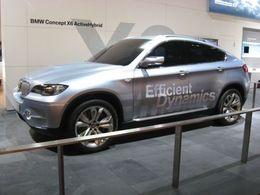 Salon de Francfort 2009 : le BMW X6 ActiveHybrid