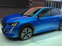 Peugeot e-208 : les premières images en live du salon de Genève 2019