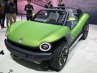 Volkswagen ID Buggy concept - Les premières images en direct du salon de Genève 2019