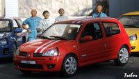 Miniature : 1/43ème - RENAULT Clio 2 RS Team