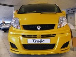 Exclusivité : Trafic Renault Sport