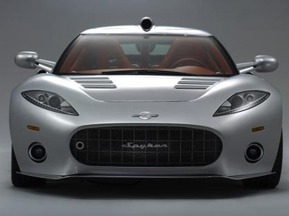 Nouvelle Spyker Aileron GT pour la course