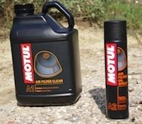 Essai Motul Air Filter Clean et Air Filter Oil Spray: du bon qui se mérite...