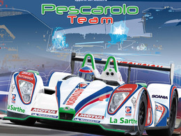 Pescarolo Team: une auto bleu, blanc, rouge?