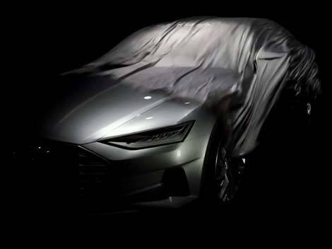 L'Audi A9 Concept montre une partie de son visage
