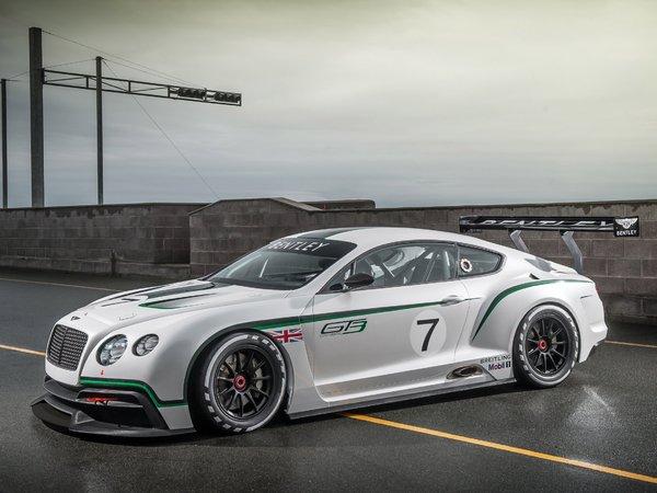 La Bentley GT3 définitve dévoilée à Goodwood