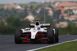 GP2 Budapest Qualifications : Grosjean d'un souffle