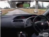 [Vidéo] : Jenson Button teste la nouvelle Civic type R..
