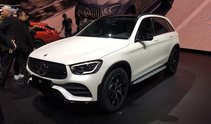 Mercedes GLC restylé : les premières images en live du salon de Genève 2019
