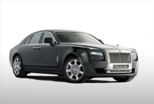 Rolls-Royce Ghost Numero Uno : déjà tunée par Deutche Manufaktur