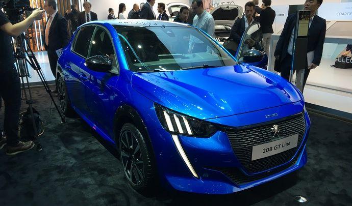 Peugeot 208 (2e génération) : les premières images en live du salon de Genève 2019