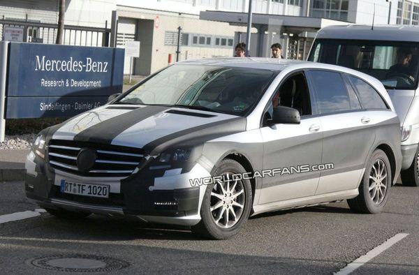 Spyshot : future Mercedes Classe R