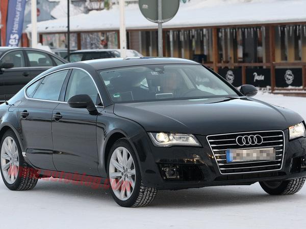 Spyshot : serait-ce l'Audi RS7 ?