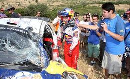 Question du jour n°74 : où et quand eurent lieu les deux accidents de Sébastien Loeb en 2009 ?