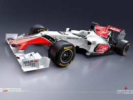 F1 - HRT présente la F111