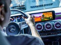 Mercedes installe Mario Kart dans la nouvelle CLA