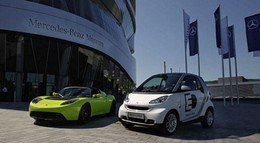 Les Émirats arabes unis misent sur la propulsion électrique : Aabar et Tesla main dans la main