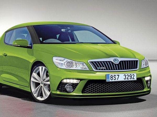 Skoda: un coupé choc sur base de VW Scirocco!