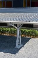 Parking écolo : un auvent de stationnement photovoltaïque en Belgique