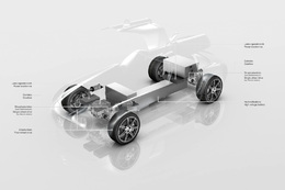 Un projet de nouvelle supercar écolo : la Mercedes SLS AMG électrique !