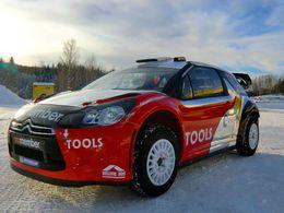 WRC : la Citroën DS3 WRC de Petter Solberg