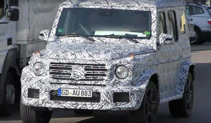 Scoop : le prochain Mercedes Classe G de sortie