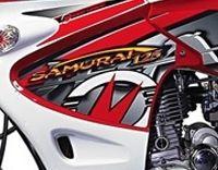 Clipic Samurai 125 : La moto de Bioman