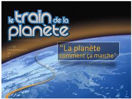 """Le """"Train de la Planète"""" va faire son tour de France à la rentrée"""