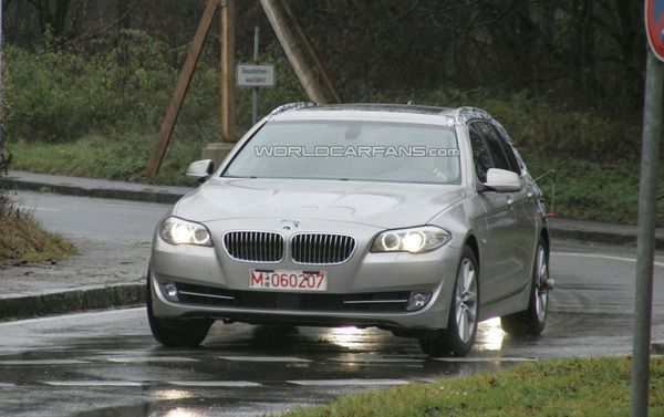spyshot nouvelle bmw serie 5 touring. Black Bedroom Furniture Sets. Home Design Ideas