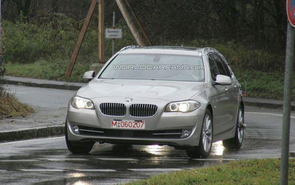 Spyshot : nouvelle BMW Serie 5 Touring