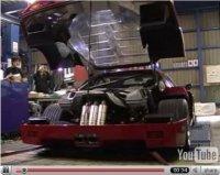 La vidéo du jour : Ferrari F40 au banc !