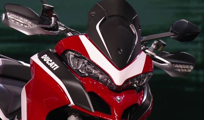Salon de Milan 2017 en direct : Multistrada 1260 et Multistrada 1260 Pikes Peak